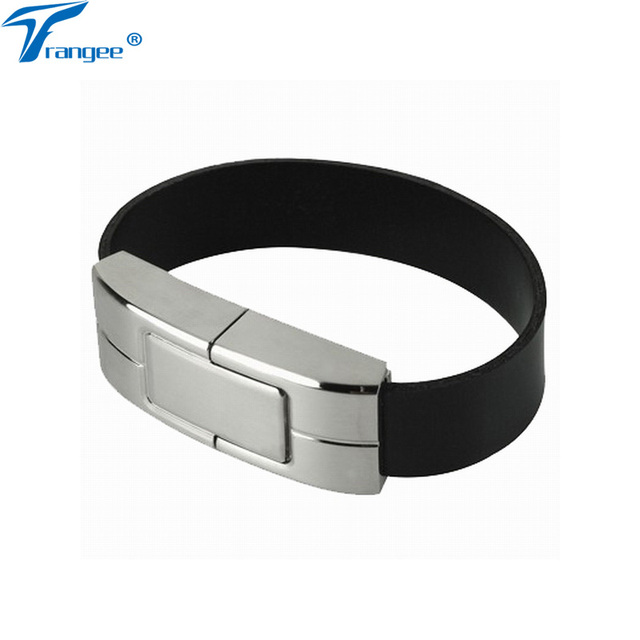 Trangee Leather Bracelet Usb Flash Drive Pendrive 4gb 8gb 16gb 32gb 2 0 Memory Sticks