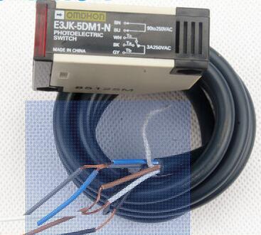 Free Shipping 2pcs/lot New Photoelectric switch E3JK-5DM1-N to radio E3JK-5L communication AC220V dhl ems 5 pcs e3jk ds30m2 e3jkds30m2 for om ron photoelectric switch new free shipping d1