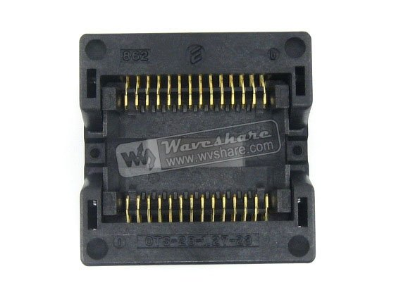 module SOP28 SO28 SOIC28 OTS-28-1.27-23 Enplas IC Test Burn-In Socket Programming Adapter 8.7mm Width 1.27mm Pitch import ots 28 0 65 01 burning seat tssop28 test programming