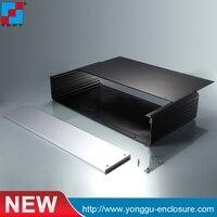 438 88 230mm WxH D 2U NEW Full Aluminium Audio Power Amplifier Case Aluminum Enclosure