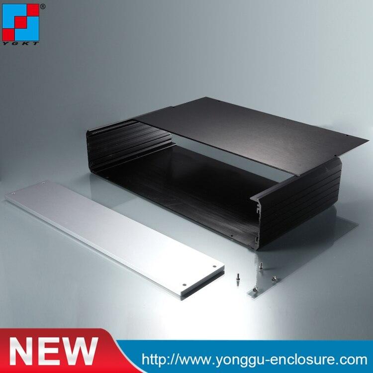 438-88-300mm (wxh-d) 2U nouveau boîtier amplificateur de puissance Audio en Aluminium/boîtier en Aluminium