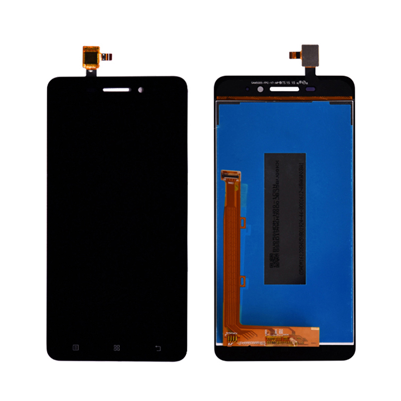 Original For Lenovo S60 S60W S60A S60-A LCD Display With Touch Screen Digitizer Assembly with frame Black White image