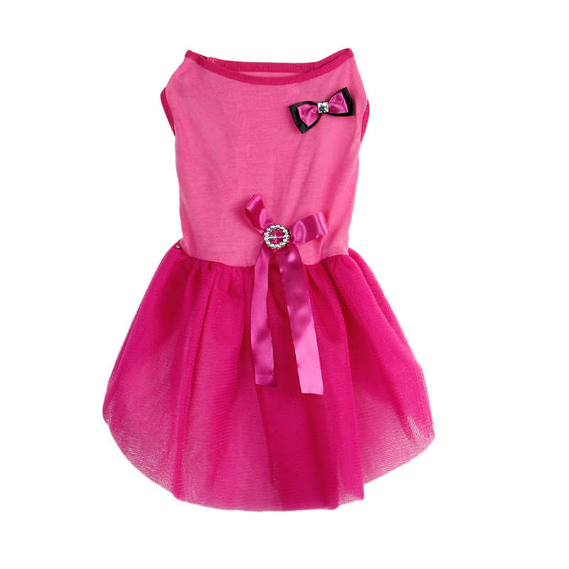 f5f56fd753061 Nice clothes for dogs cheap Bow Tutu dog dresses Dress Lace Skirt puppy  clothes pet roupas para cachorros pequenos-in Dog Dresses from Home &  Garden on ...