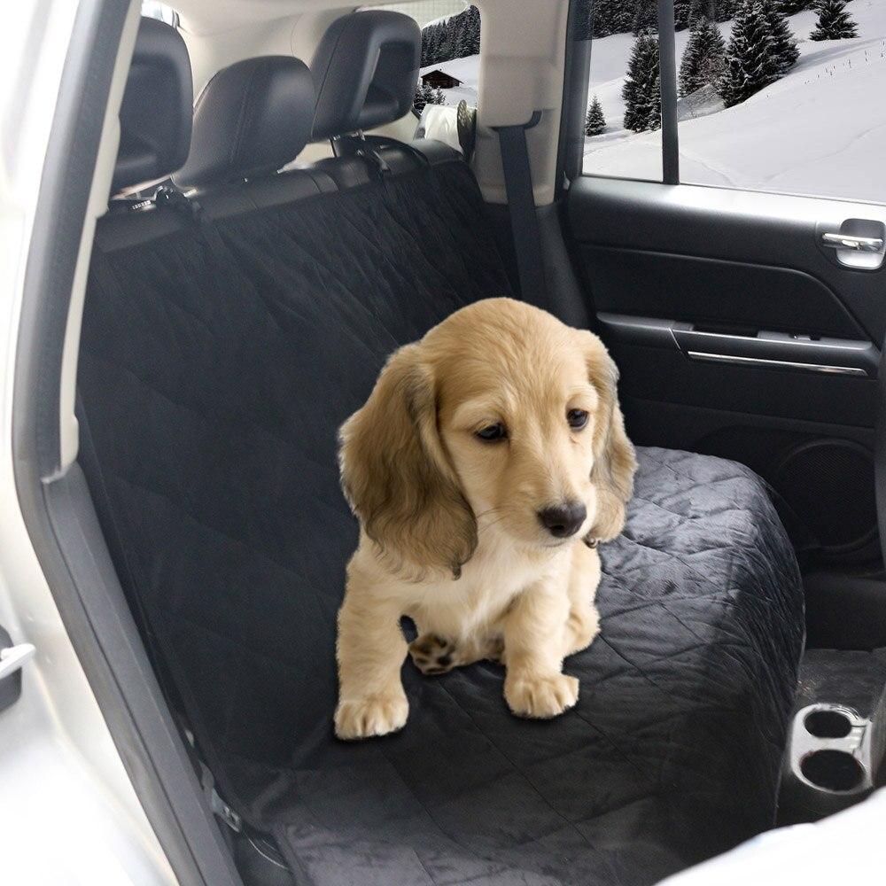 New Dog Pet Car Van Coral Fleece Seat Cover Mat Pad Rear Hammock Waterproof Keep Warm Non-Slip Cushion Blanket Free Shipping D25