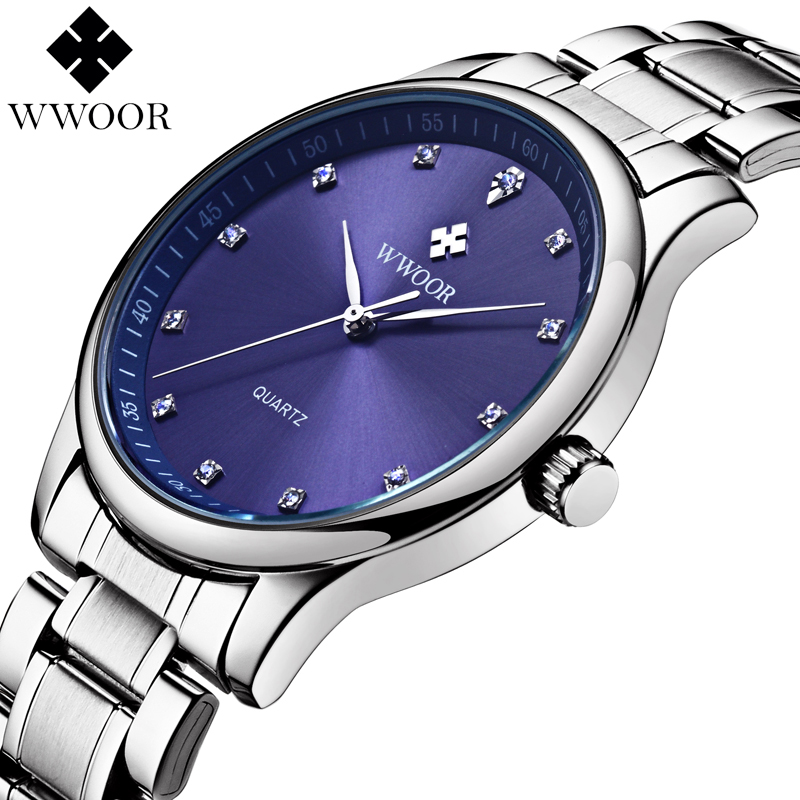 2016 Top Brand 50m Waterproof Men Sports Watches Men s Casual Quartz Watch Diamonds Hour Stainless