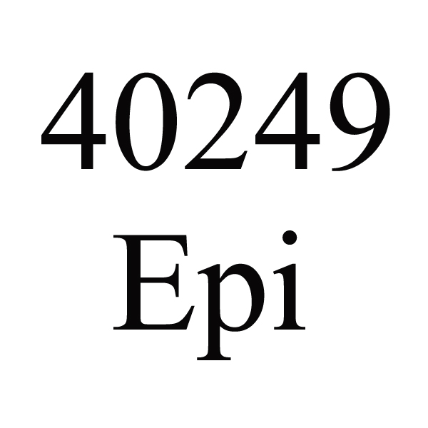 40249 # Empreinte