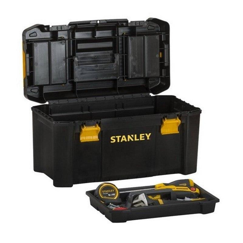 Caja de herramientas con cierres metalicos STANLEY 1-92-911 48 cm
