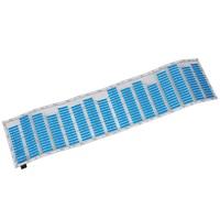 70*16 cm Sound Muziek Activated Car Stickers Equalizer Glow Blue LED Licht (Ruimtebesparend, Low Power verbruik)