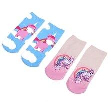 Girls' Cartoon Unicorn Printed Ankle Socks