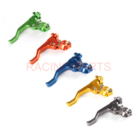 CNC Short Stunt Clutch Lever Perch Motorcycle Brake Clutch Levers For CR80/125 CRF 250R/X 450R/X XR650R Free shipping
