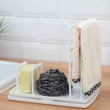 Multi Funktion Küche Desktop Lappen Rack Gericht Tuch Ablauf Kostenloser Stanzen Schwamm Seife Regal Lagerung