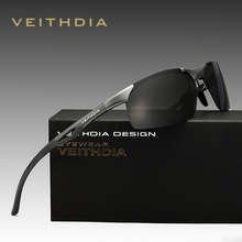 2016 VEITHDIA Polarized Sunglasses Men Sun Glasses Original Box Male Brand Designer Eyeglasses Oculos de sol masculino 6591
