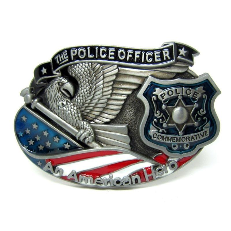 Faitheasy New Lines Man Belt Buckle In Colors Police Men's Belt Buckles Suit For 4cm Width Belt Drop Shipping