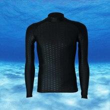 Гидрокостюм для серфинга купальники мужчин плавание купальный костюм С Длинным рукавом Футболка подводное плавание плавать мокрые костюмы мужские гидрокостюмы