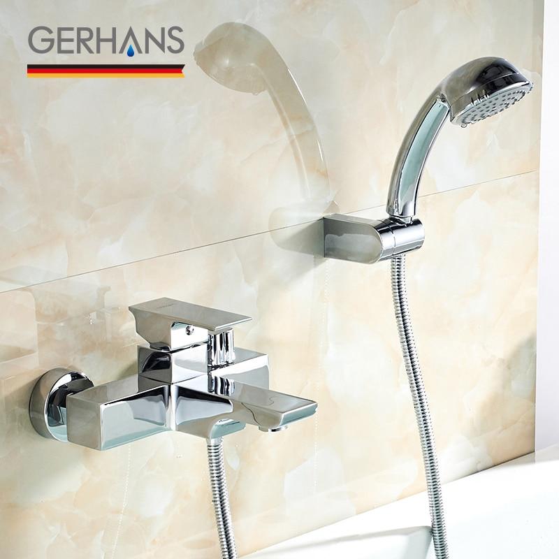 GERHANS Leometric Bathtub Faucet Water Tap Mixer Low ...