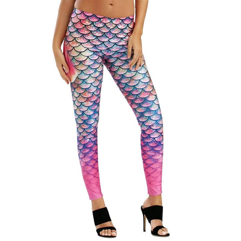 VVUES Leggings Sport Ladies Health Pants Attractive Mermaid Jogging Pants Excessive Waist Elastic Sport Leggings Pants Trousers Clothes Yoga Pants, Low-cost Yoga Pants, VVUES Leggings Sport Ladies Health Pants...