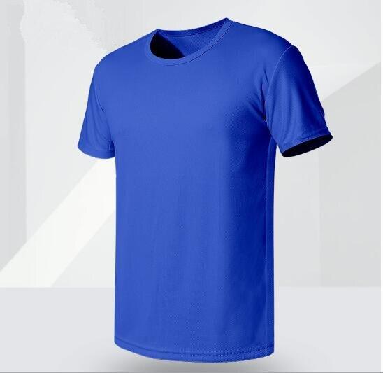 2018 freizeit schnell trocknend T-shirt neue sommer große größe kurzarm shirts männlichen