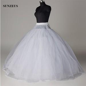 Image 3 - Hoopless 8 Layers Hard Tulle Wedding Petticoats Luxury Princess Quinceanera Dresses Underskirt Long Crinoline Tulle S40