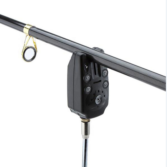 Adjustable Waterproof Fishing Electronic Alarm with 2 LEDs