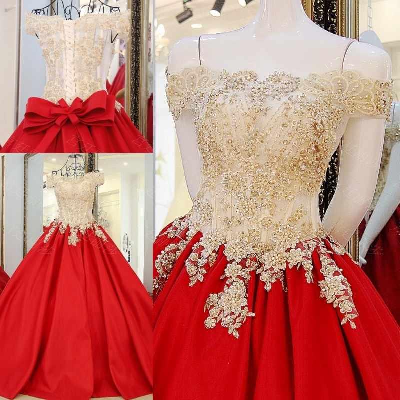 c5cd5b723 Custom Made 2017 Bridal Marriage Gowns A line Red Dress Lace Rhinestone  African Wedding Dresses vestidos