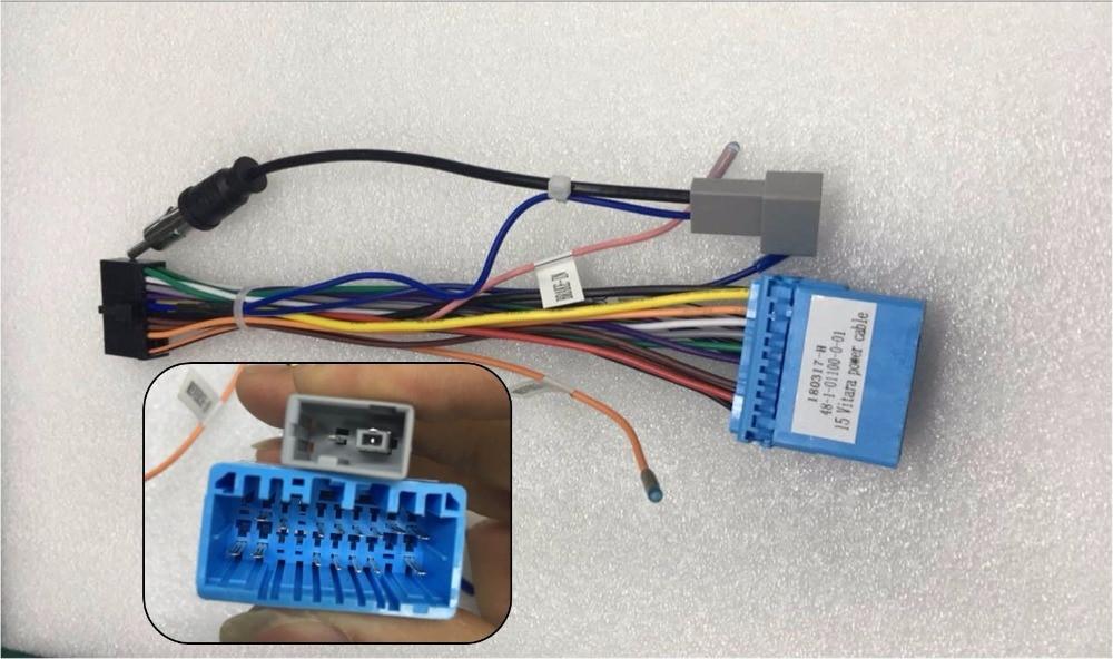 Power Wiring Harness Connector For Safetyleader Brand Suzuki Vitara Sx4   S Cross Swift Car