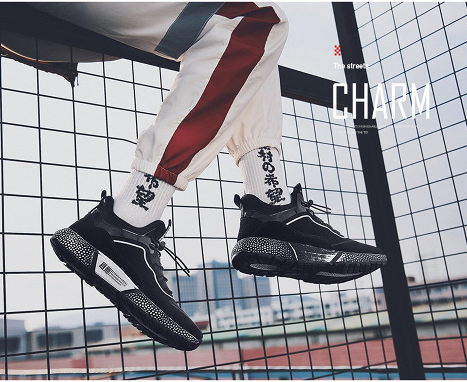 MUMUELI Gray Black Leather 2019 Designer Casual Breathable Shoes Men High Quality Fashion Luxury Ultra Boost Brand Sneakers L771 10
