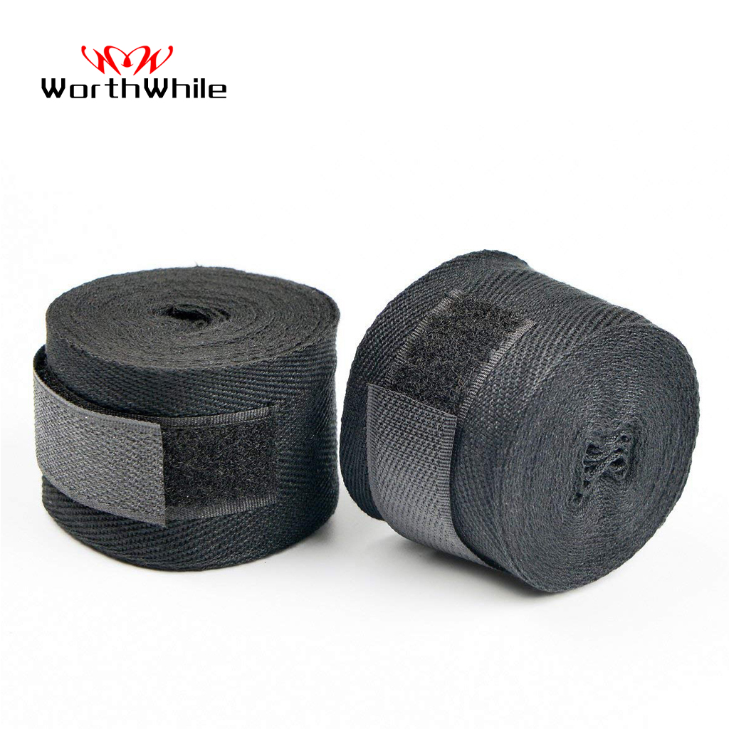WorthWhile 1 Pair Cotton Kick Boxing Wraps Bandage Men Sanda Taekwondo Muay Thai Guantes De Boxeo MMA Wrist Straps Equipment