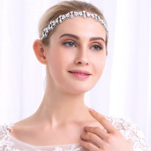 Fashion  Bridal Crystal Rhinestone Hair  Hair Band  Women White Hair Band DIY Pricess Wedding Tiaras Crown Accessories  MC-4019