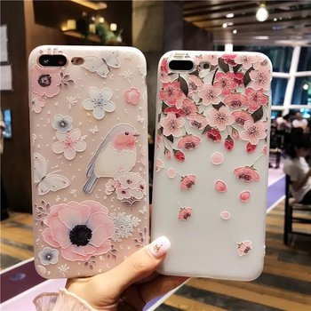 Beautiful Flower Cool Colors Covers For All iPhone