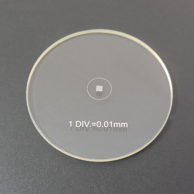 1 Microm/ètre oculaire 0,01 mm