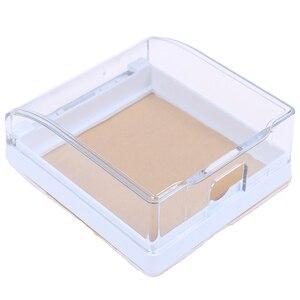 Image 3 - 플라스틱 벽 스위치 방수 커버 박스 벽 라이트 패널 소켓 초인종 플립 캡 커버 지우기 욕실 주방 높은 Qulaity