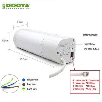 Motor de cortina eléctrico Eruiklink Dooya, Motor de cortina de Control remoto para Auto vía de cortina motorizada para automatización del hogar inteligente