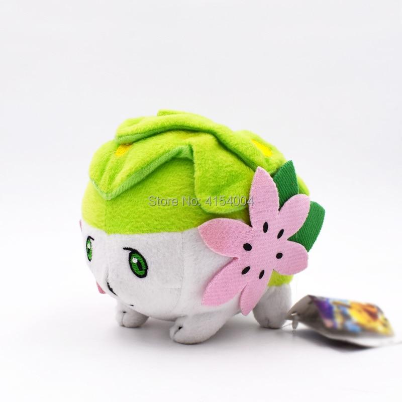 Pokemon Shaymin 15cm Kids Soft Stuffed Toy