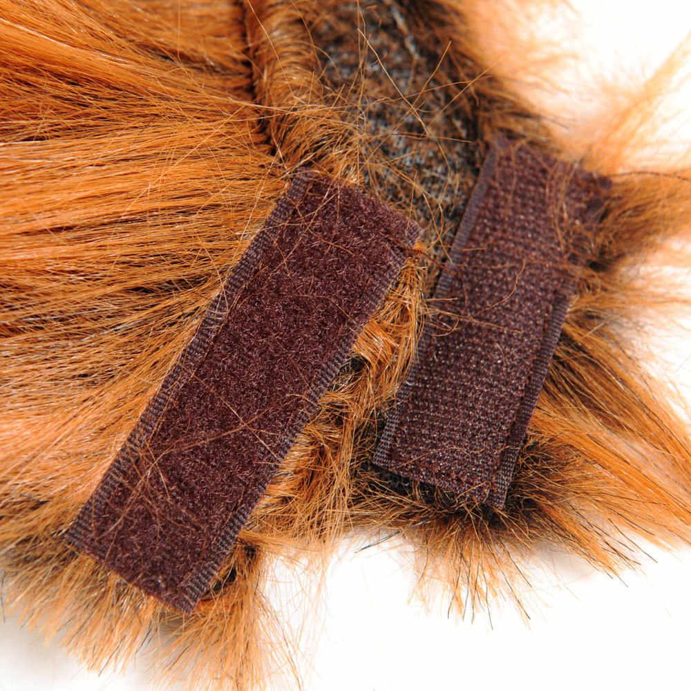 2cc62fd4b ... HOOPET Cat Funny Wig lion headgear Hat Cat Small Dog Collar Wig Warm  Cat Supplies Accessories