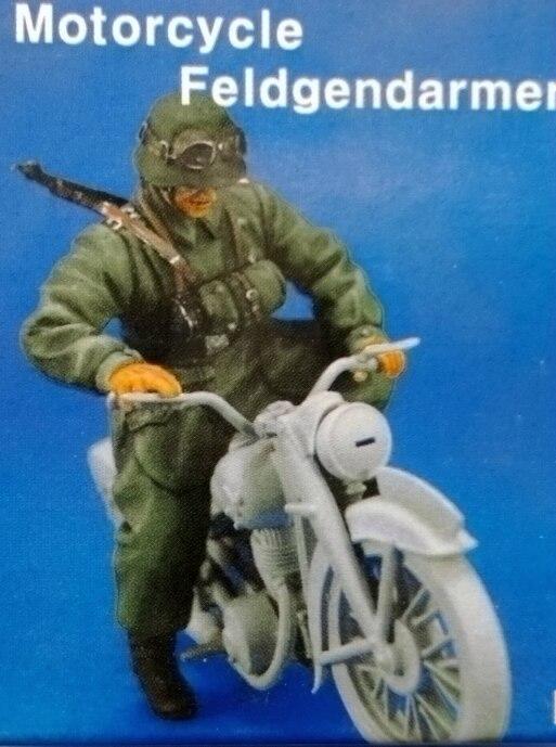 1:35  World War II German Soldier Riding A Motorcycle
