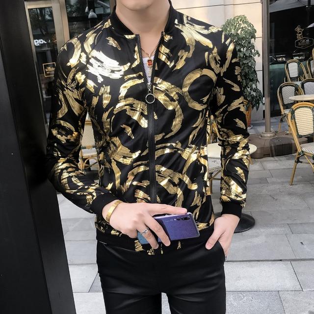 Sun Protection Clothing 2019 Summer Thin Men Jacket Streetwear Slim Fit Bomber Jacket Long Sleeve Casual Windbreaker Jackets Men