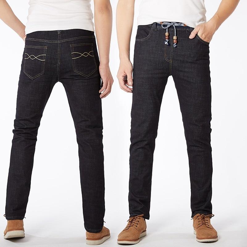 Fashion Stretch Mens Jeans Trousers Casual Men Jeans Mannen Denim Pants Men Trousers Man Jeans Straight Fit Plus Size 48 RC093