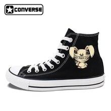 Tush Rabbit Zombie Bunny Custom Design Converse Chuck Taylor High Top Canvas Sneakers Men Women's Skateboarding Shoes