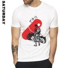 09d86e41803255 AKIRA KANEDA JAPANESE RETRO Design Funny T Shirt for Men and Women,  Breathable Graphic Premium