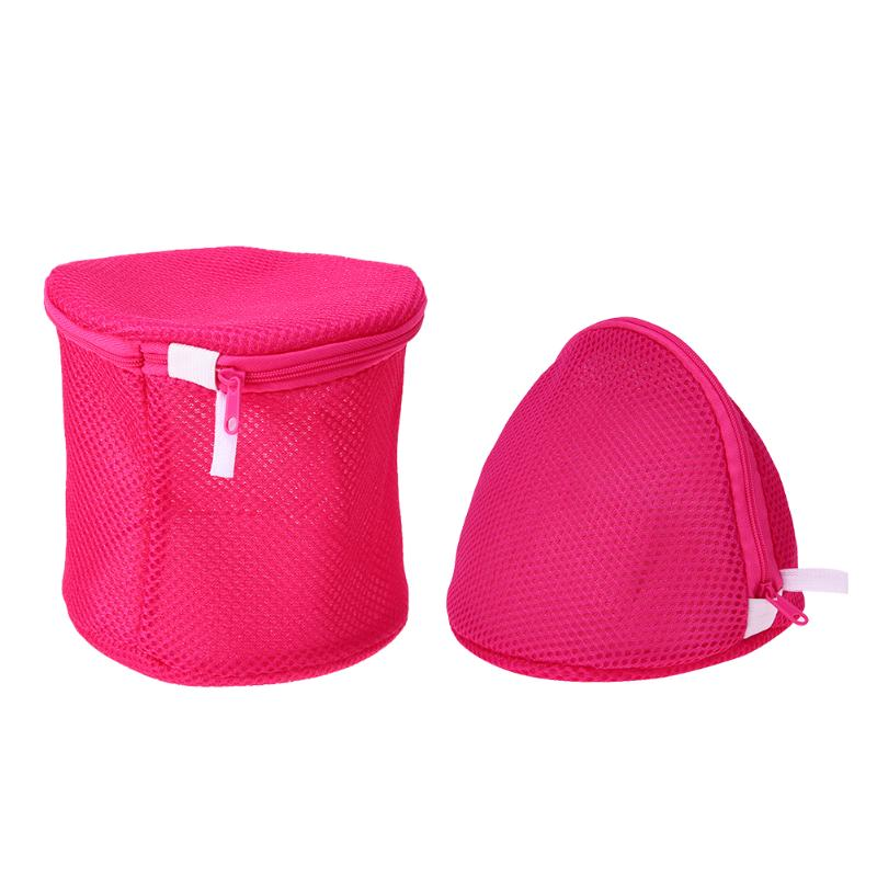 Mesh Laundry Bags Bra Underwear Socks Wash Baskets for Washing Machine Accessories Household Cleaning Tools