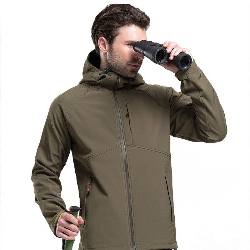 Ynport Softshell Jacket Men Trekking Ski Waterproof Rain Coat Outdoor Hiking Clothing Male Windproof Soft Shell Fleece Jackets