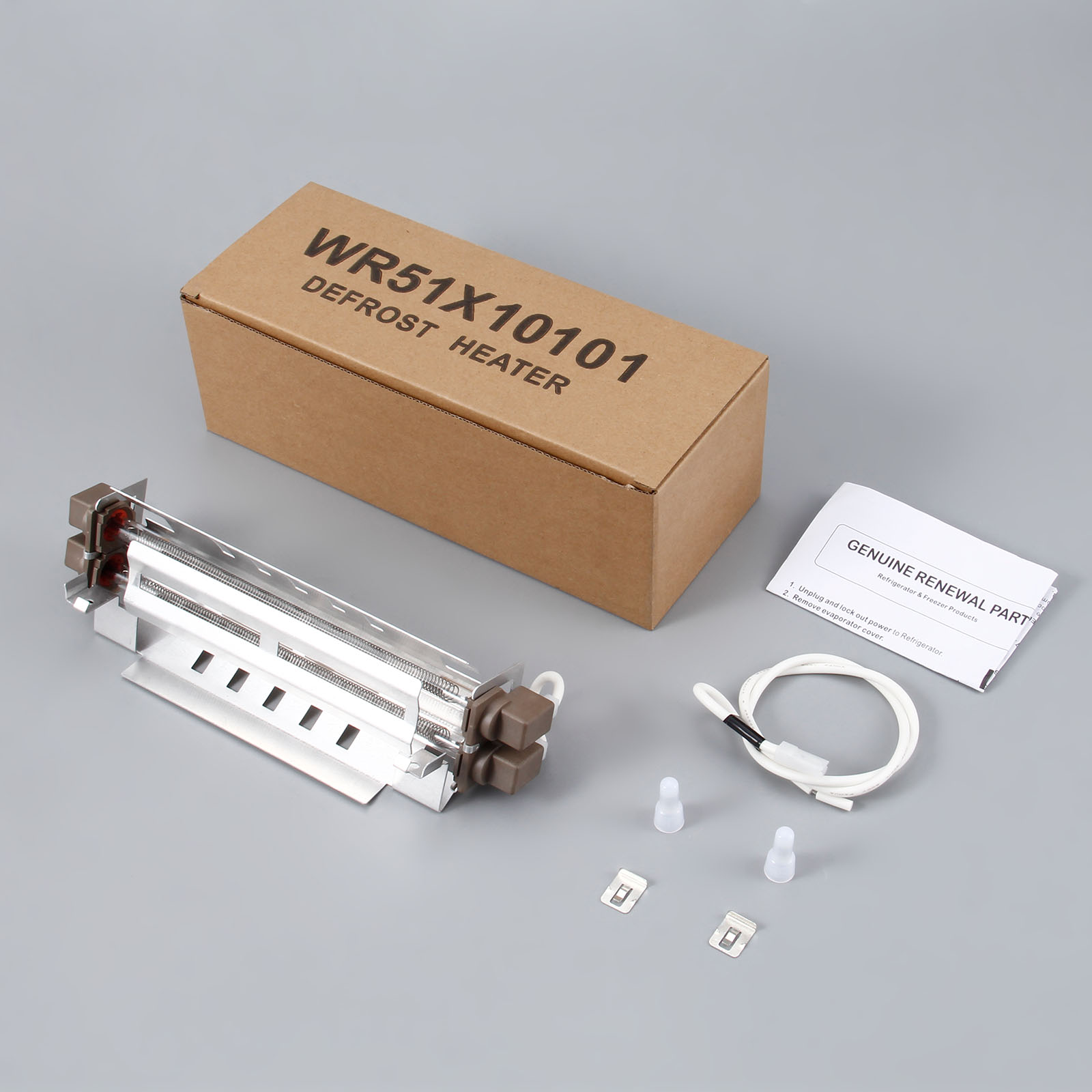 WR51X10101 Refrigerator Defrost Heater Kit Fridge For General Electric Hotpoint AP4355467 1399613