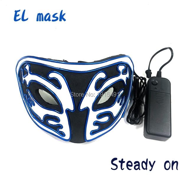Фото новое поступление светящаяся маска из эва со светодиодной подсветкой цена