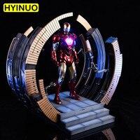 1/6 масштаб экшн фигура Мстители MK6 кольцо разборный стол платформа отображения Fit человек игрушки тела для 12 фигурку Show Дисплей