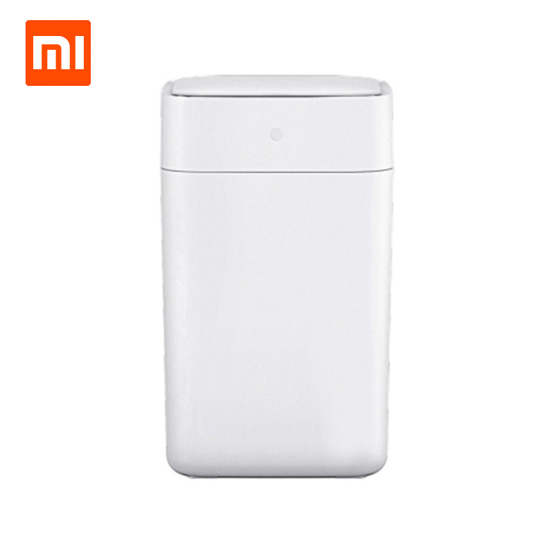 Original Xiaomi Townew T1 Smart Trash Can Motion Sensor Auto Sealing LED Induction Cover Trash 15.5L Mi Home Ashcan Bins trash