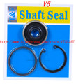 Free Shipping,V5 Automotive air conditioning compressor shaft seal oil seal /sanden Air conditioning compressor seal