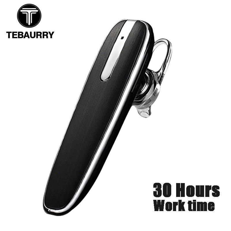TEBAURRY Business bezvadu Bluetooth austiņu austiņas Mini Bluetooth - Portatīvie audio un video