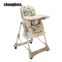 Feeding Baby Chair Baby Highchair Adjustable and Foldable Children Eatting Dinner Chair High Height Adjustable