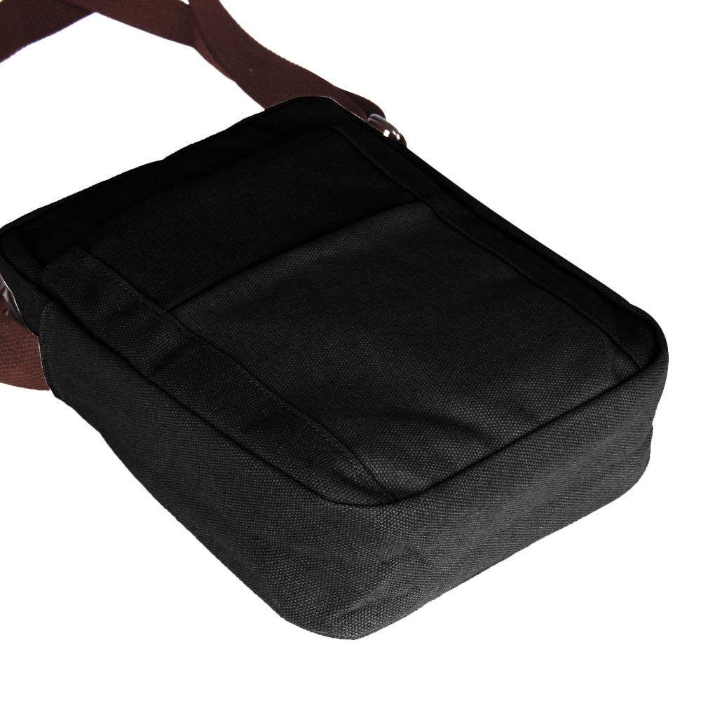FGGS Hot Men's Vintage Canvas Shoulder Bag Satchel School Messenger Bag Crossbody Handbag hot vintage men canvas satchel casual cross body messenger shoulder bag