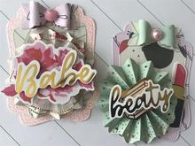 Tags Metal Cutting Dies for Card Making